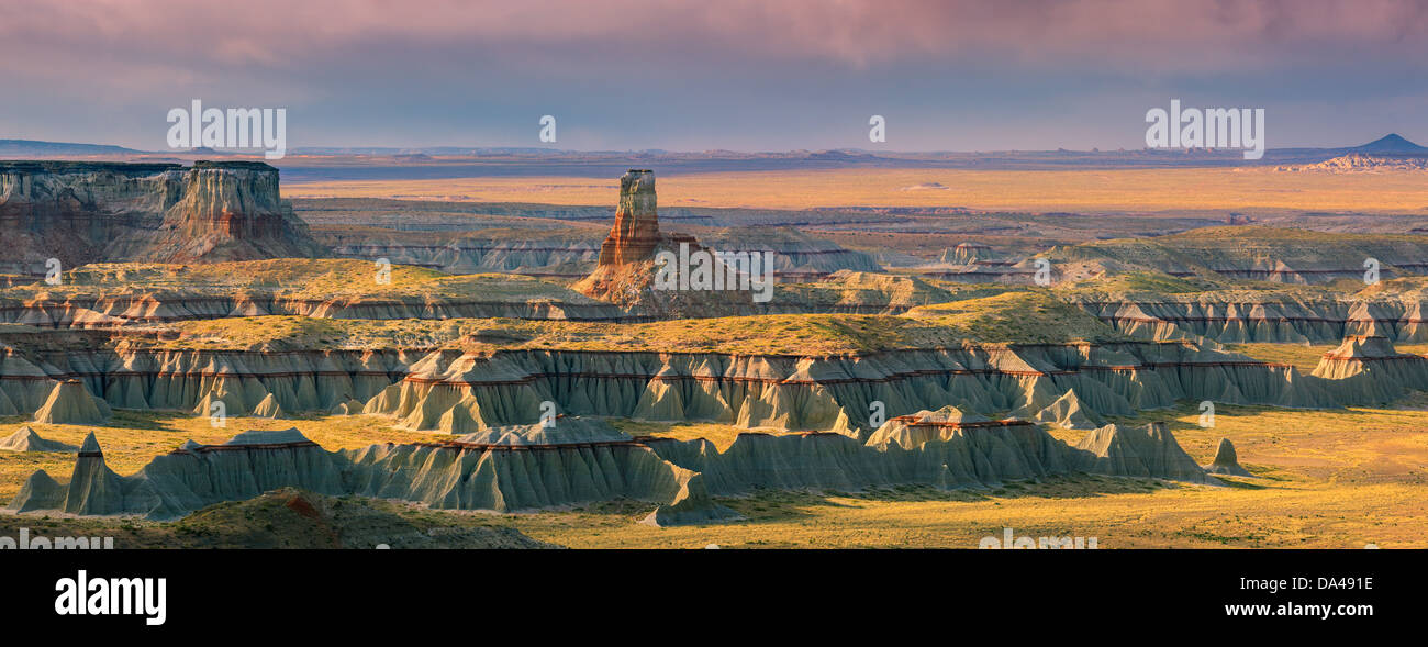 Ha Ho No Geh Canyon, in the north eastern part of Arizona near Tuba City, USA - Stock Image