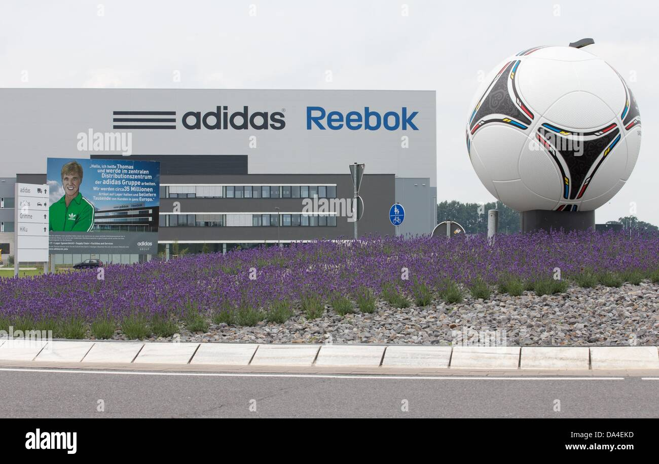 e8dc4ce72 The world s largest Adidas Group distribution center has opened with an  investment of more than 100 million euros in Rieste