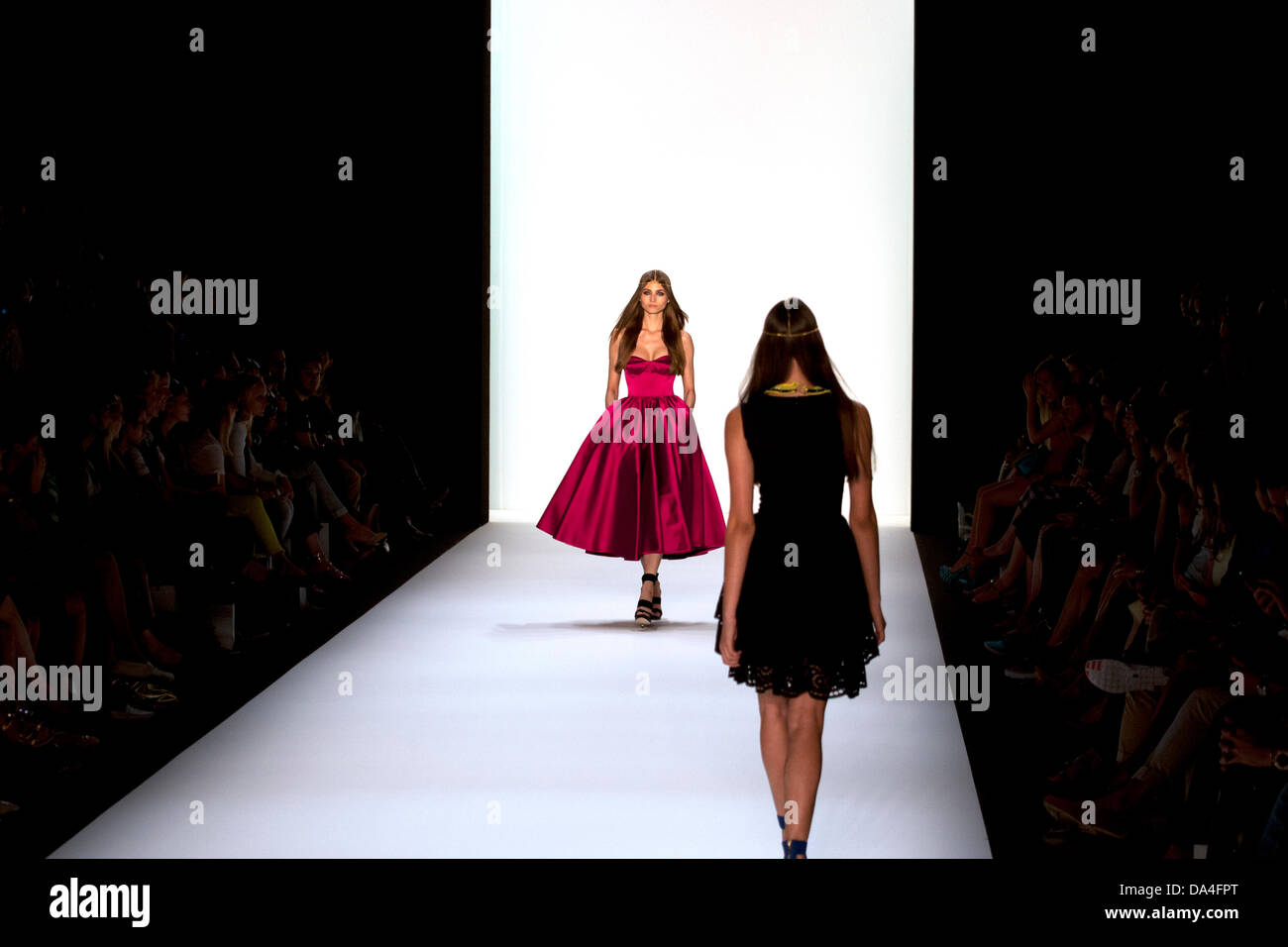 Mercedes-Benz Fashion week Berlin, Germany - Stock Image