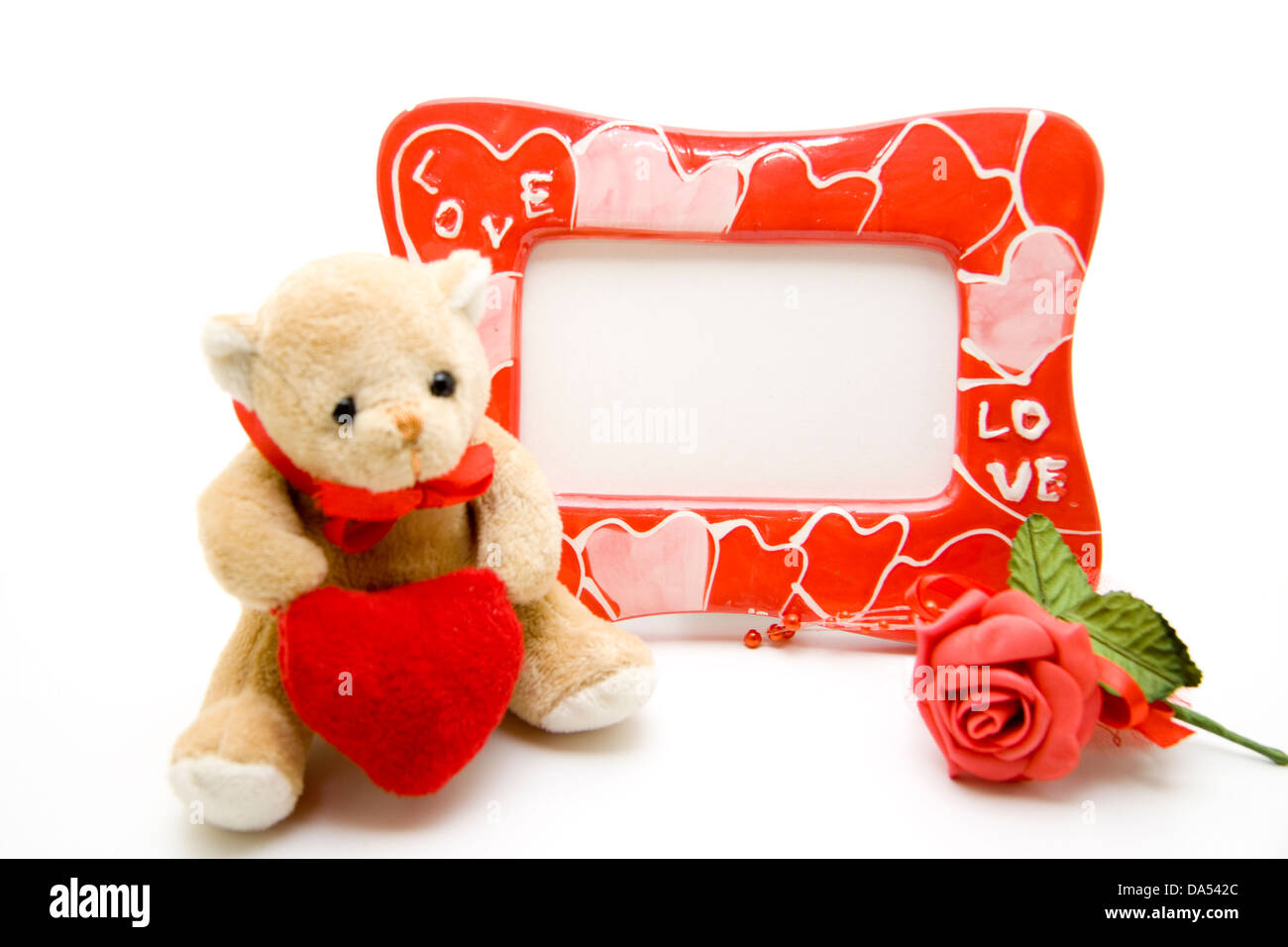 Picture frames with teddy bear Stock Photo: 57890628 - Alamy