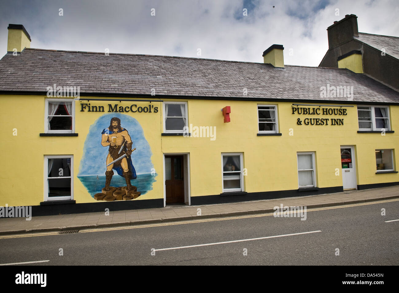 Finn MacCool's Public House in Bushmills, County Antrim, Northern Ireland, UK - Stock Image