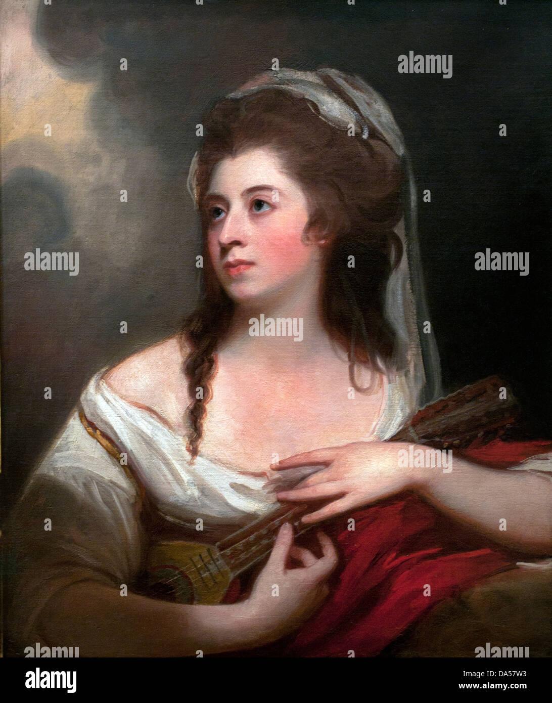 Portrait of Miss Sophia Cumberland 1780 George Romney 1734-1802 English - Stock Image