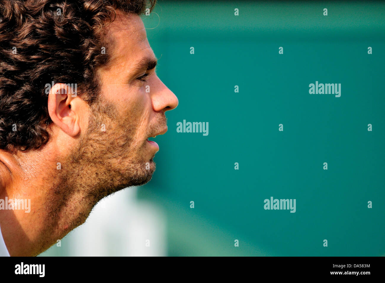 Jean-Julien Royer (France) at Wimbledon 2013 - Stock Image