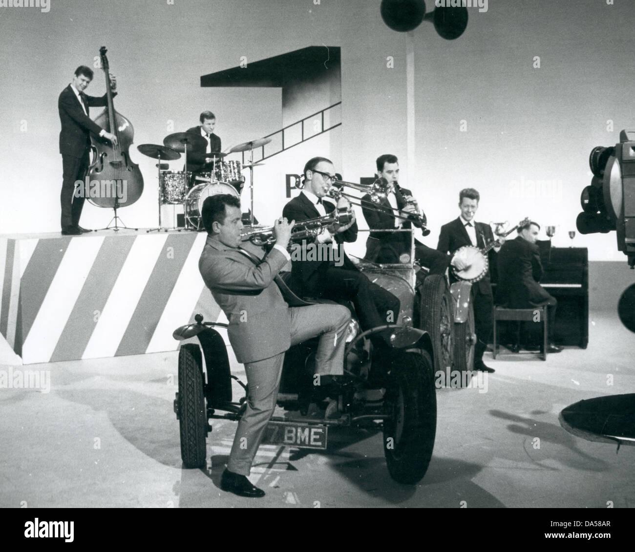 ALAN ELSDON JAZZ BAND  UK group about  1962 - Stock Image