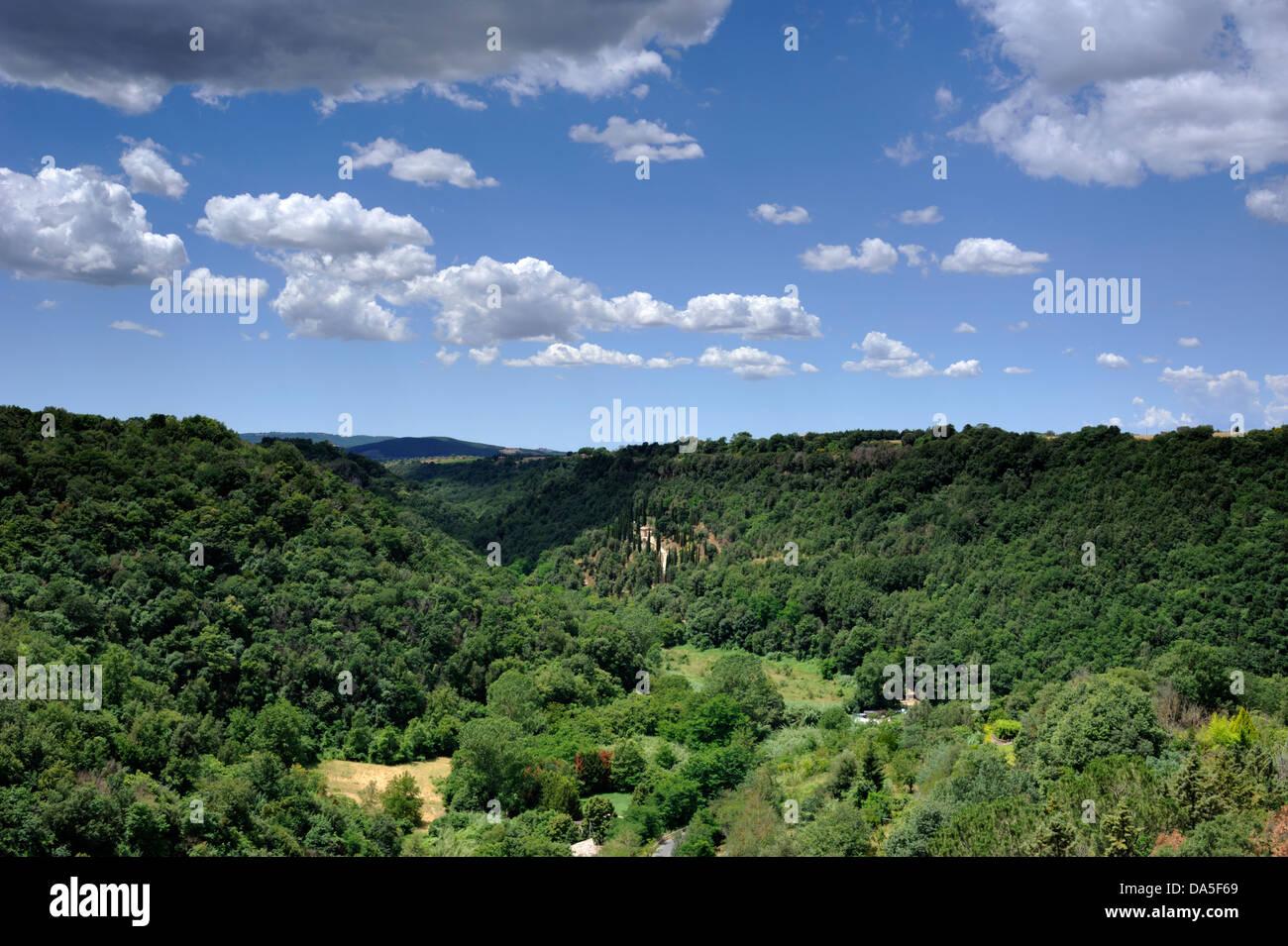italy, tuscany, pitigliano - Stock Image