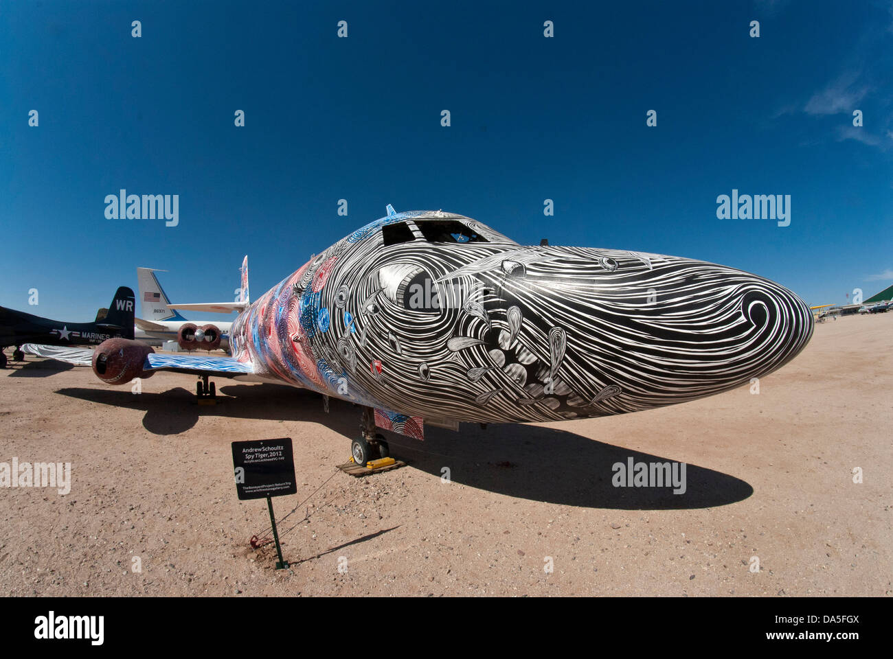 Davis Monthan Boneyard >> bone yard, largest, aircraft, graveyard, Davis, monthan, air force Stock Photo: 57899658 - Alamy