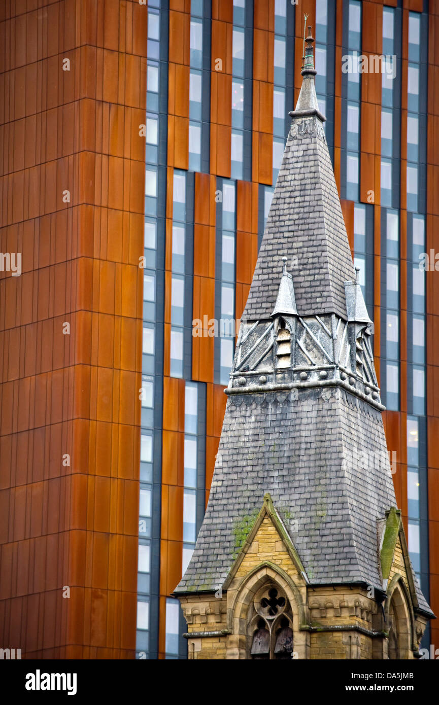 Old And Modern Architectural Styles Church Steeple Broadcasting