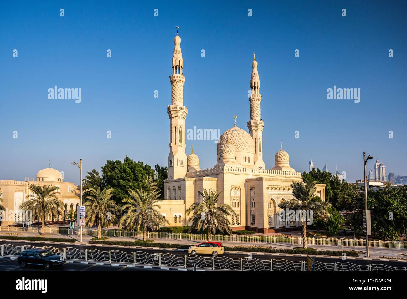 united arab emirates uae dubai city jumeirah mosque dubai stock photo 57902940 alamy. Black Bedroom Furniture Sets. Home Design Ideas