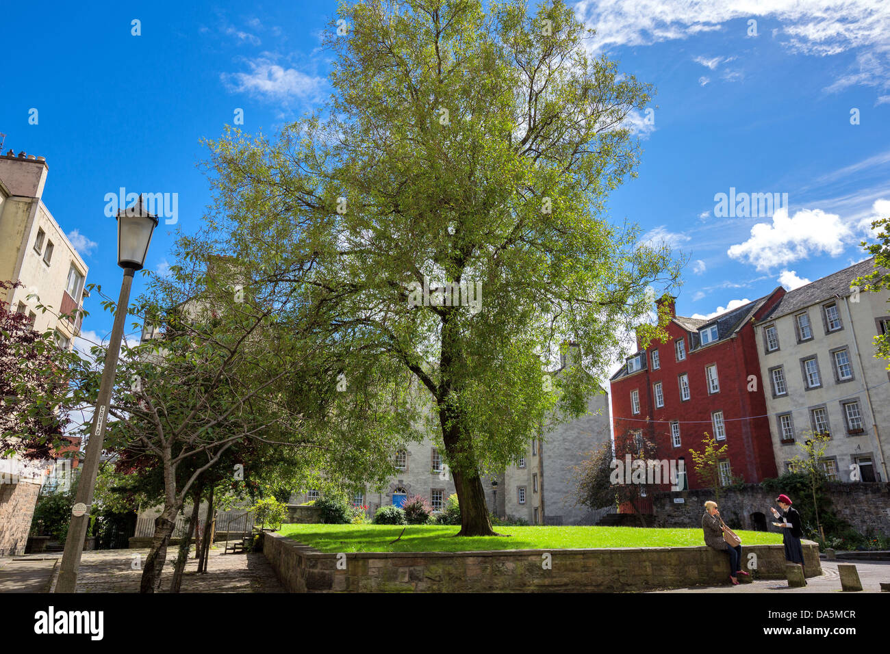 Europe Great Britain, Scotland, Edinburgh, Royal Mile, Canongate - Stock Image