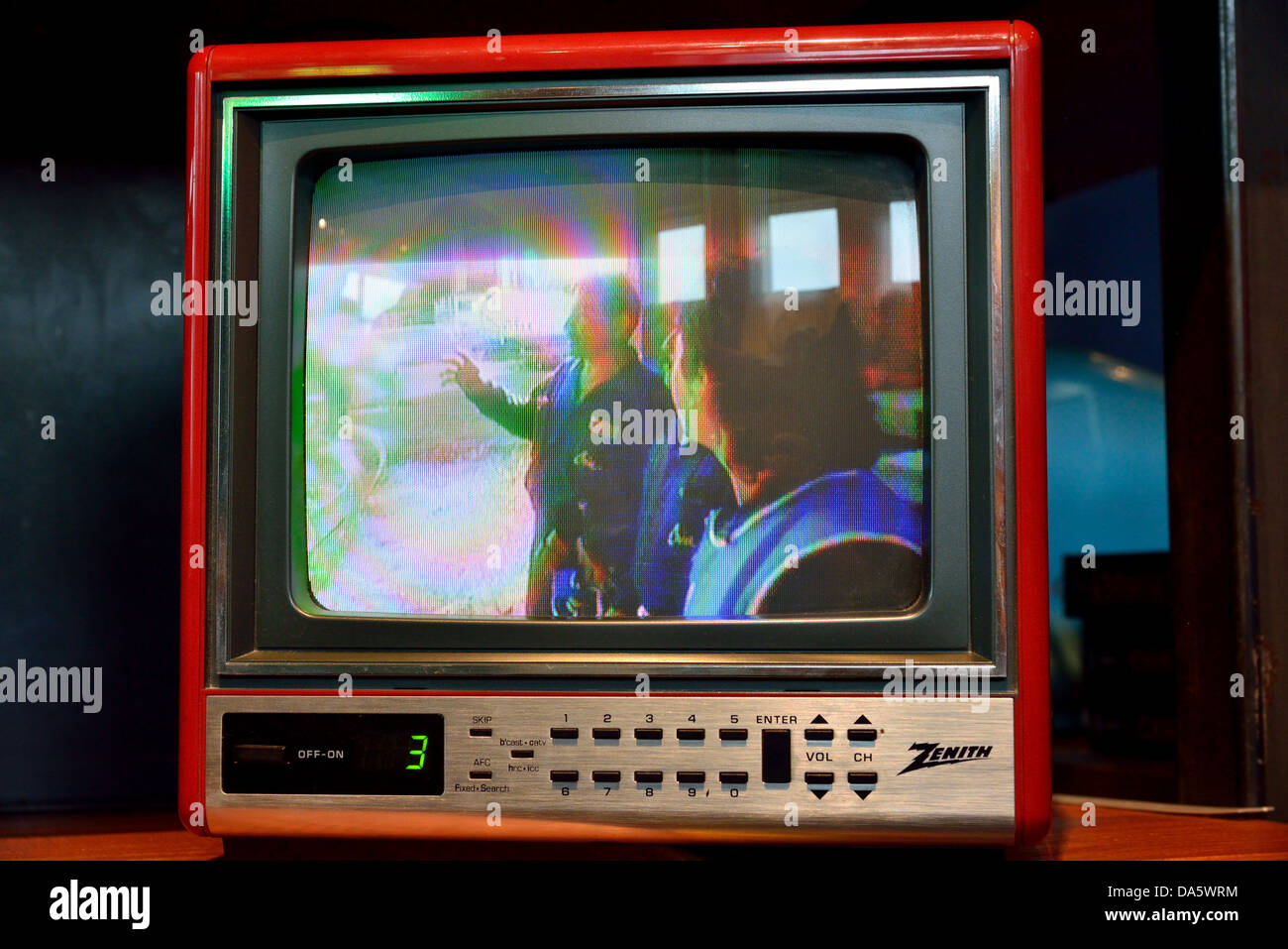An old Zenith color television set Stock Photo: 57907688 - Alamy