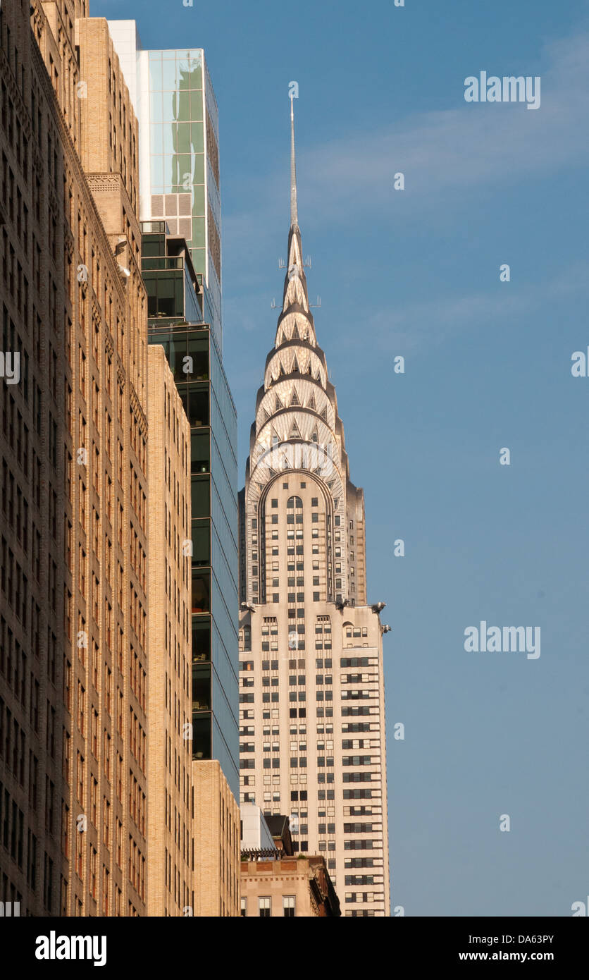 Chrysler Building Midtown Manhattan New York Town City USA