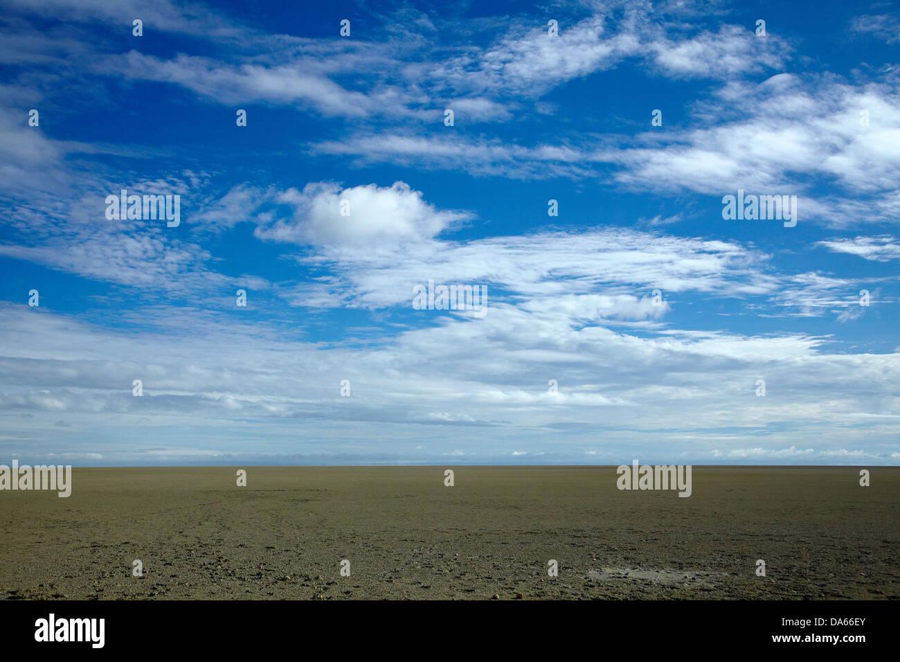 Etosha Pan, Etosha National Park, Namibia, Africa - Stock Image
