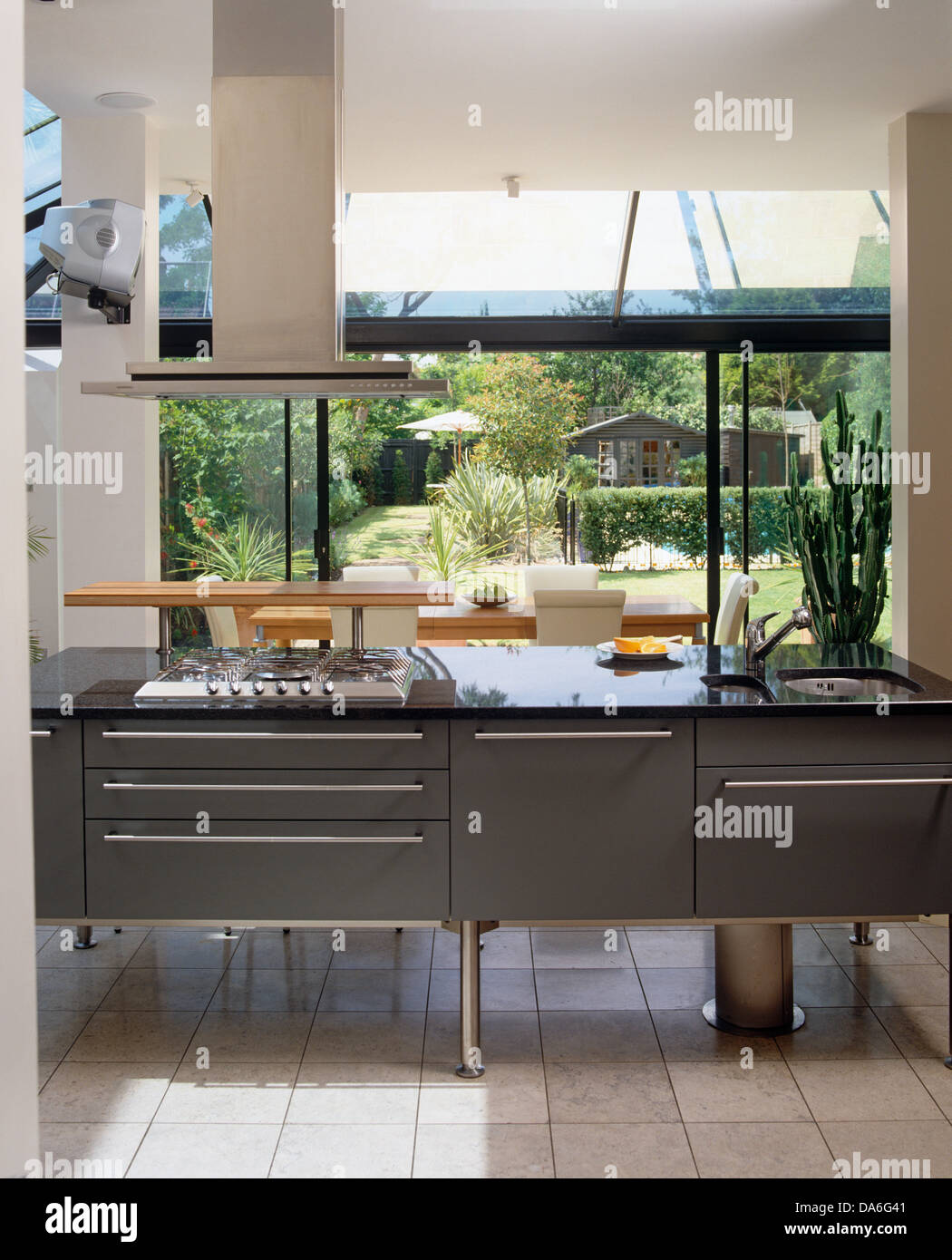Extractor Fan Kitchen Island Stock Photos Amp Extractor Fan