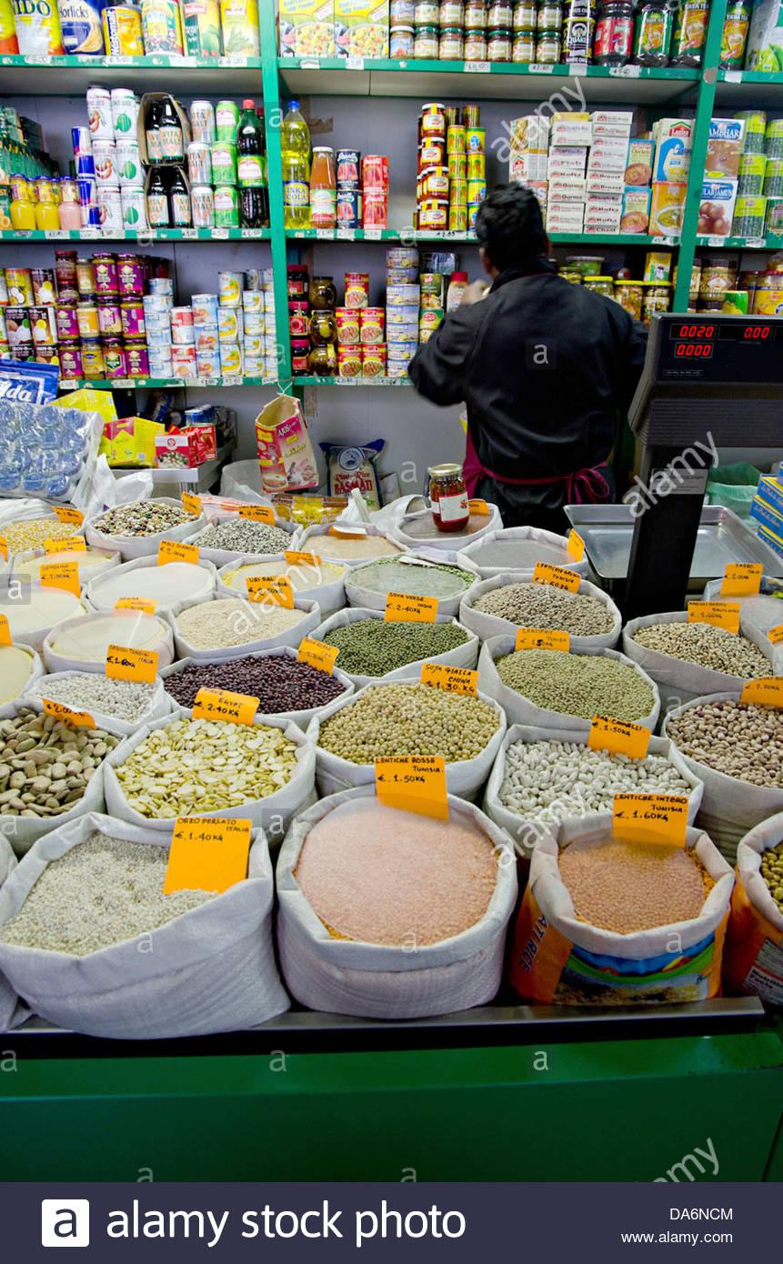 nuovo mercato esquilino,rome - Stock Image