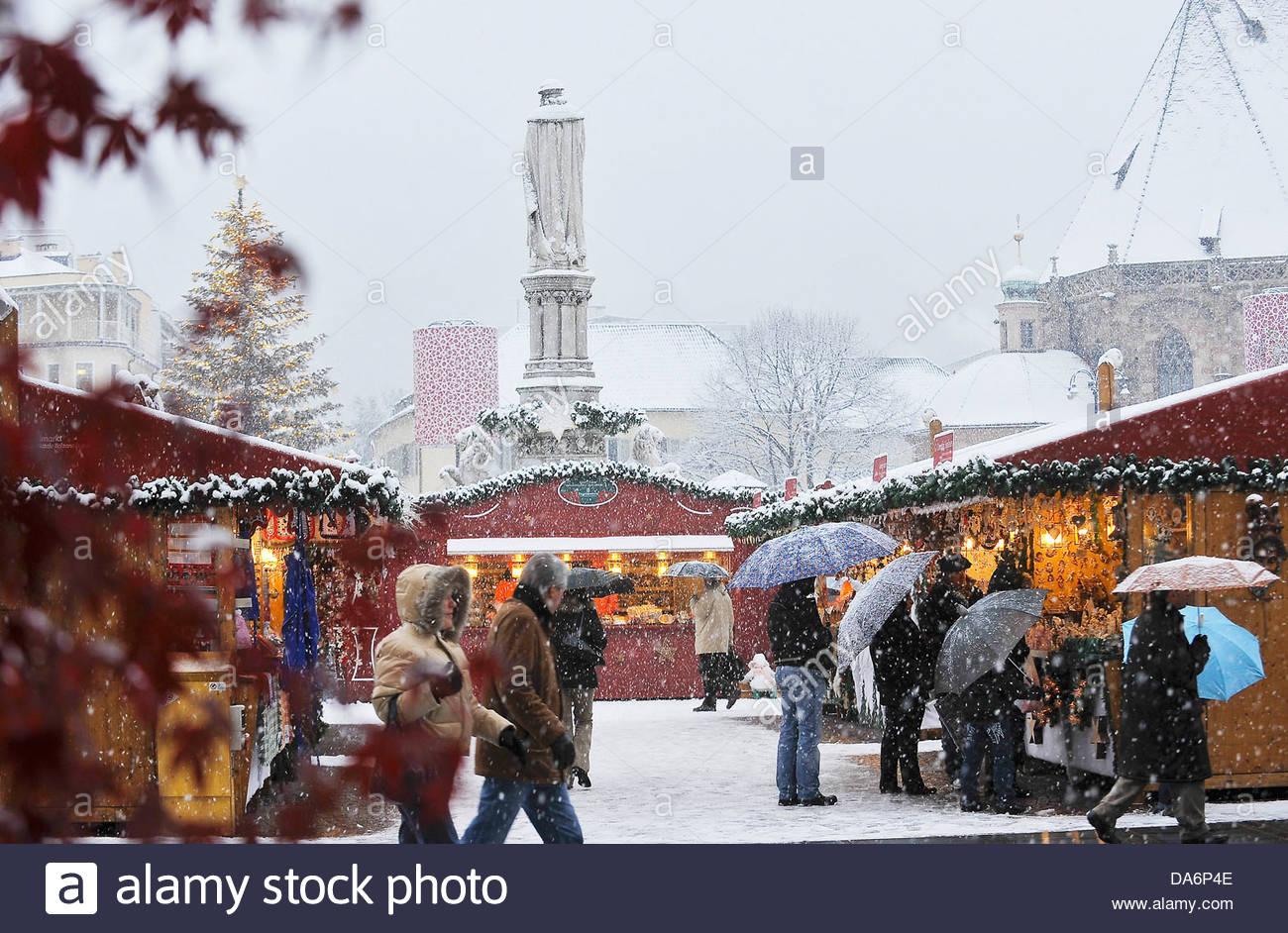 santa market,bolzano,south tyrol - Stock Image