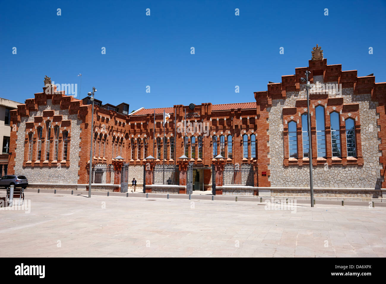 rectorat universitat rovira i virgili in the former municipal slaugherhouse tarragona catalonia spain - Stock Image