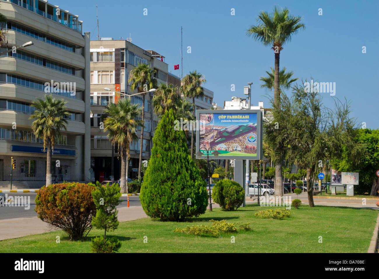 Türkei, Provinz Hatay (Antakya), Iskenderun, Stadtansicht - Stock Image