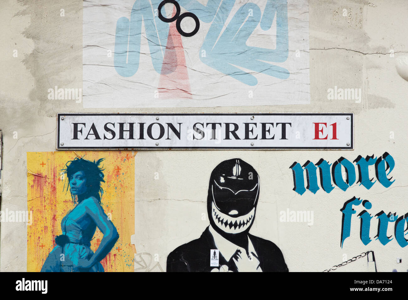Street sign London Stock Photo