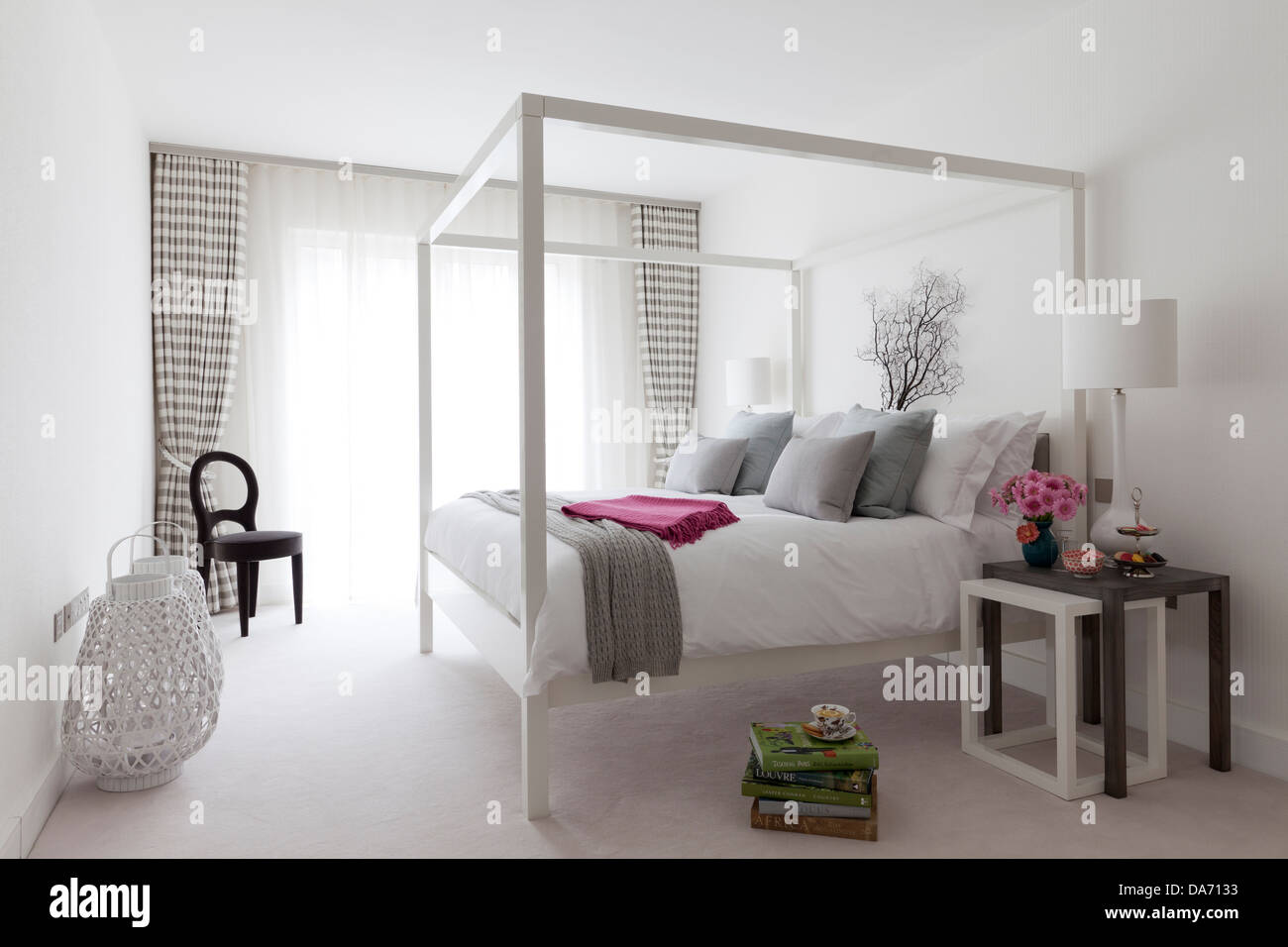 Four poster baed - Stock Image