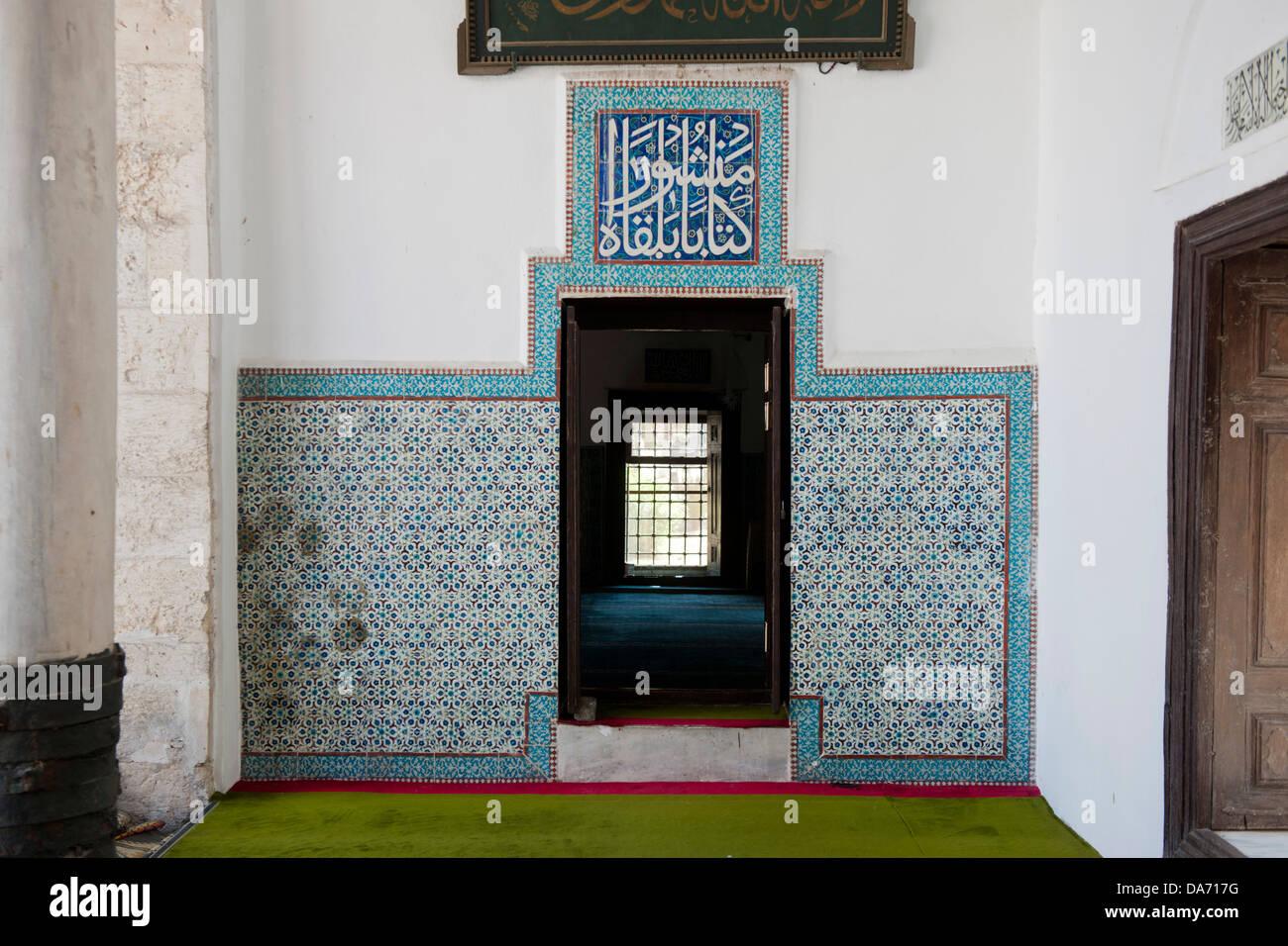 Türkei, Adana, Ulu Cami im alten Baazar-Viertel Stock Photo
