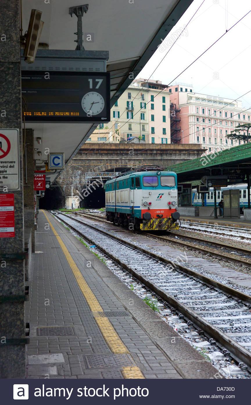 Genova porta principe railway station genova italy stock - Genova porta principe ...