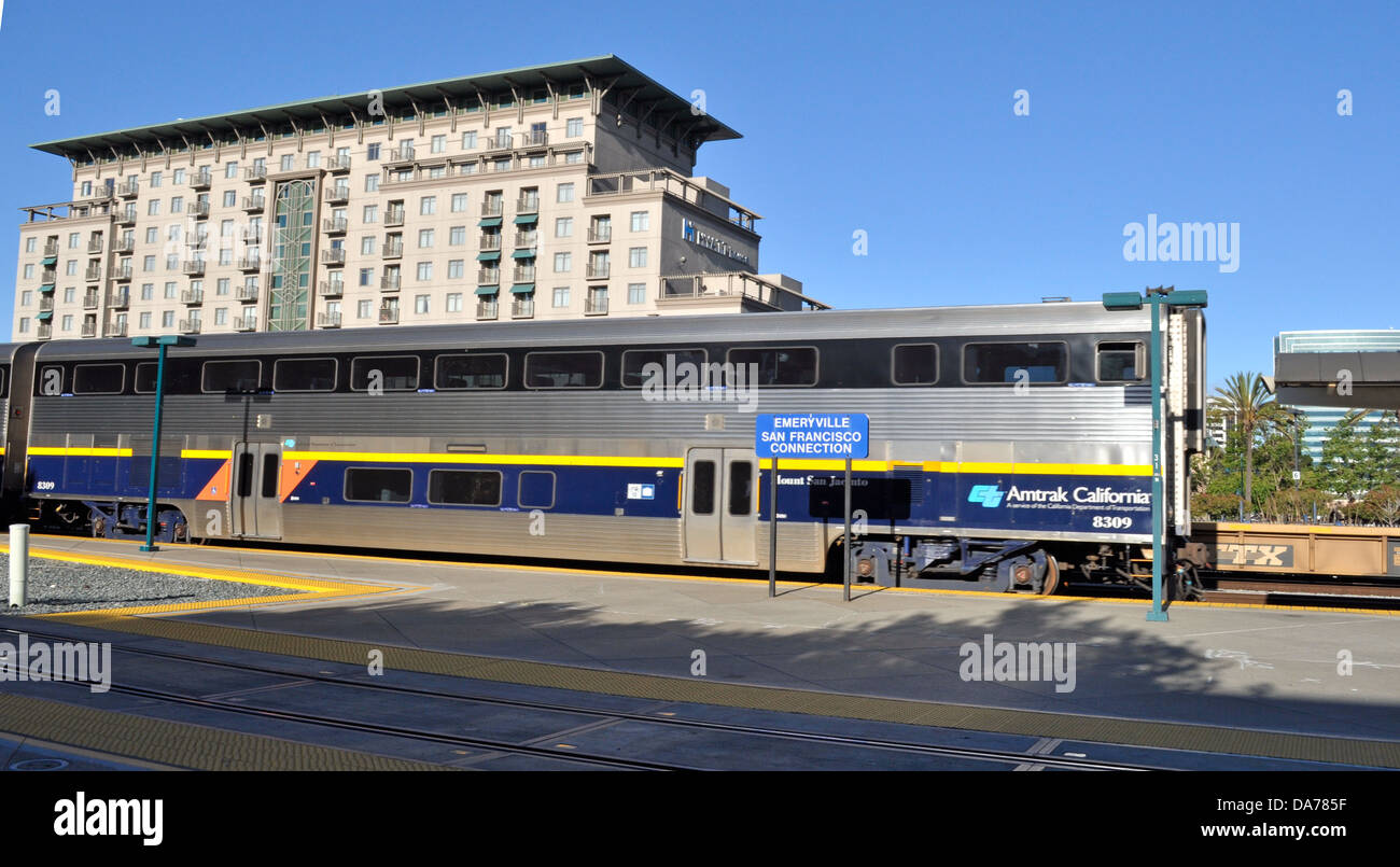 hyatt house hotel next to emeryville amtrak train station california DA785F - How To Get From Emeryville Amtrak To San Francisco
