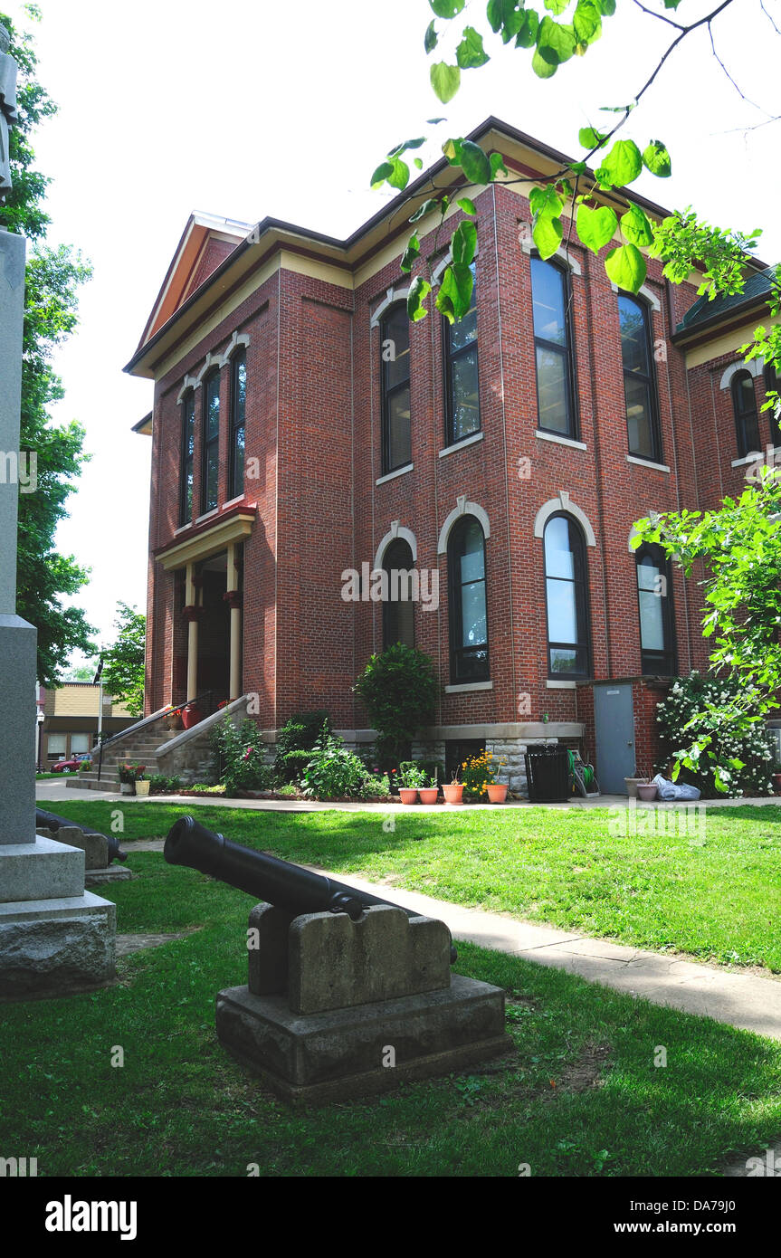 Bond County Courthouse in Greenville, Illinois,  USA - Stock Image