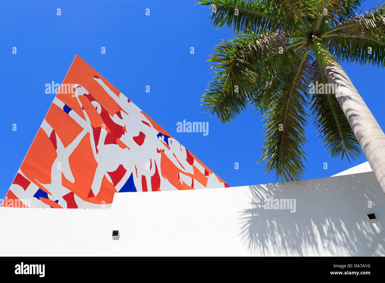 Art Museum,Fort Lauderdale,Florida,United States,North America Stock Photo