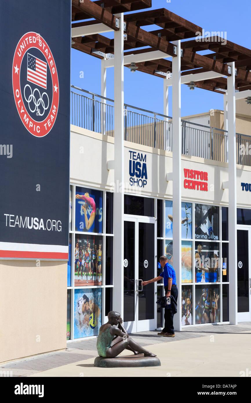 Olympic Training Center,Chula Vista,San Diego Region,California,USA - Stock Image