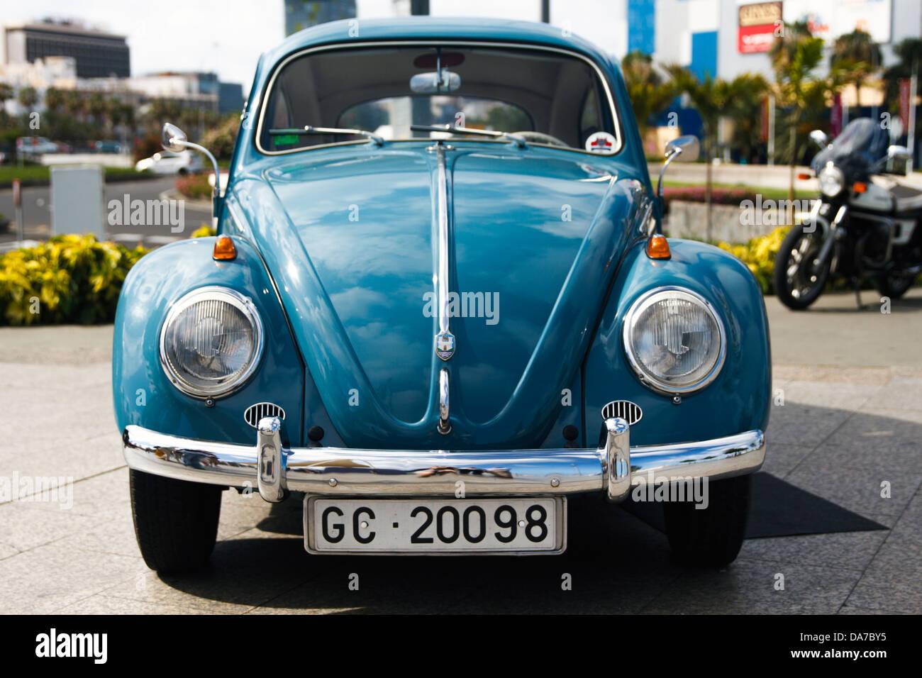 Classic Volkswagen Beetle Car Stock Photo Alamy