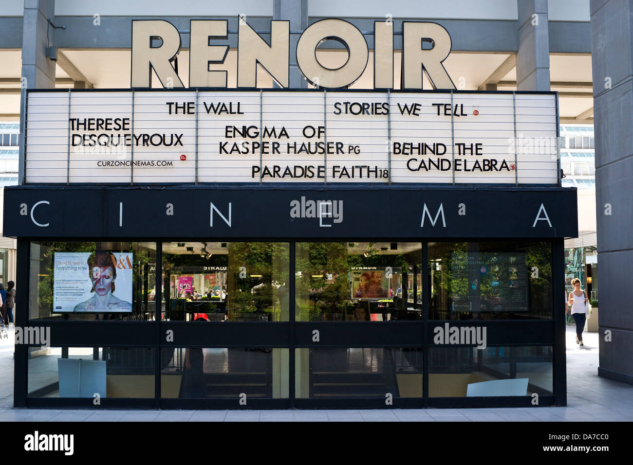 The Renoir Cinema, London - Stock Image