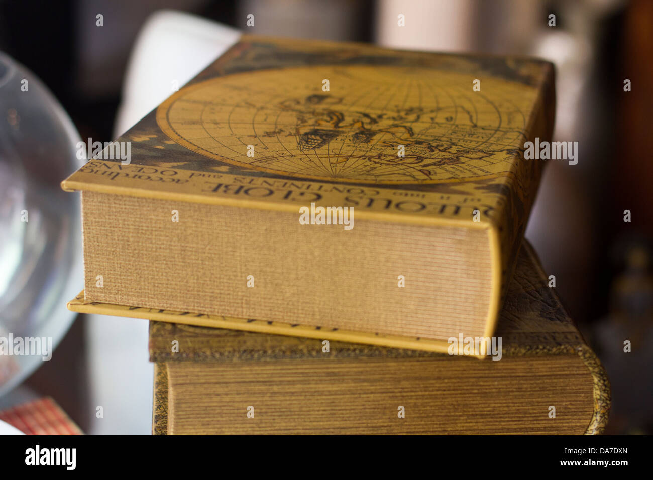 Stack of books - Stock Image