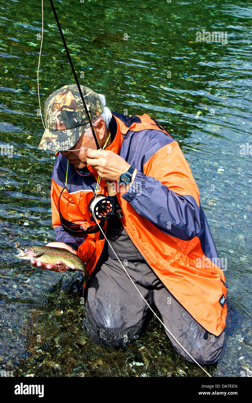 Elk River Vancouver Island Fly Fishing