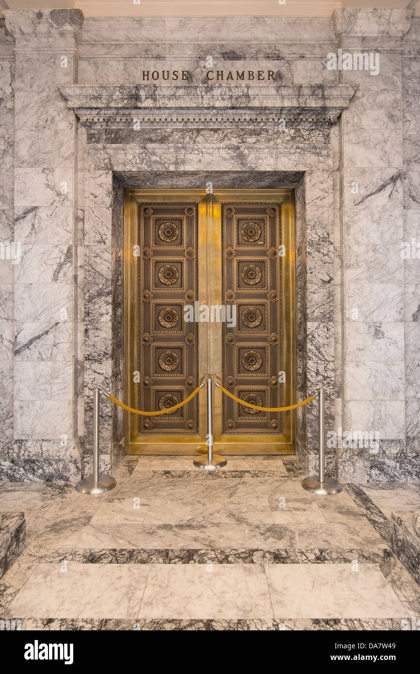 Washington State Capitol Building House Chamber Bronze Doors in Olympia & Washington State Capitol Building House Chamber Bronze Doors in ...