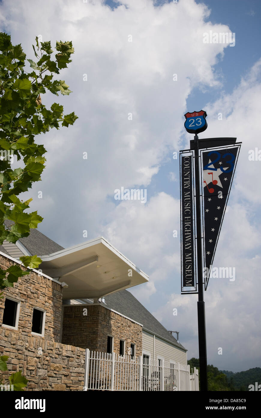 Country Music Highway Museum, Kentucky, United States of America - Stock Image