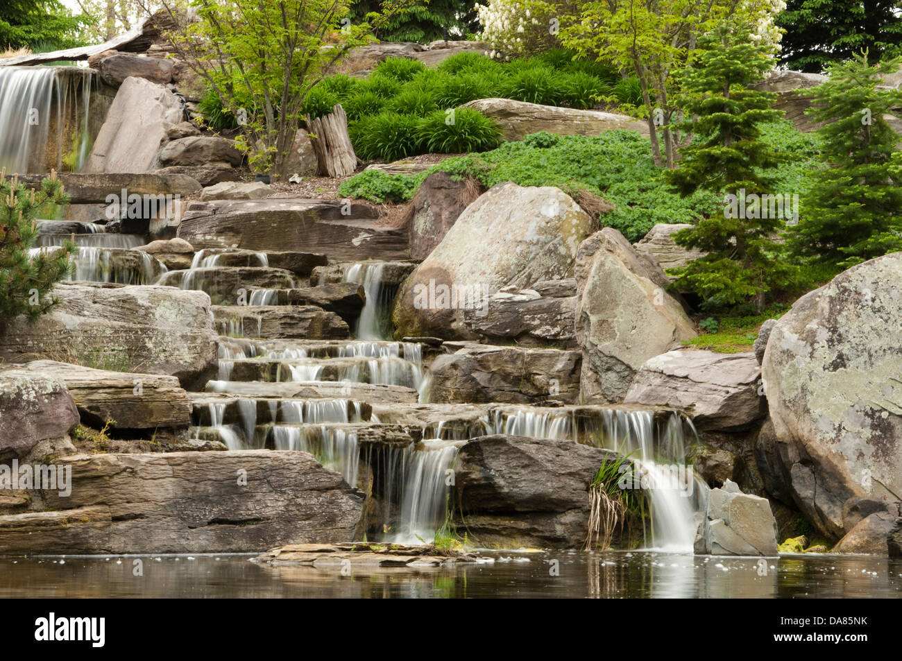 Frederik Meijer Gardens and Sculpture Park, Grand Rapids, Michigan, United States of America - Stock Image