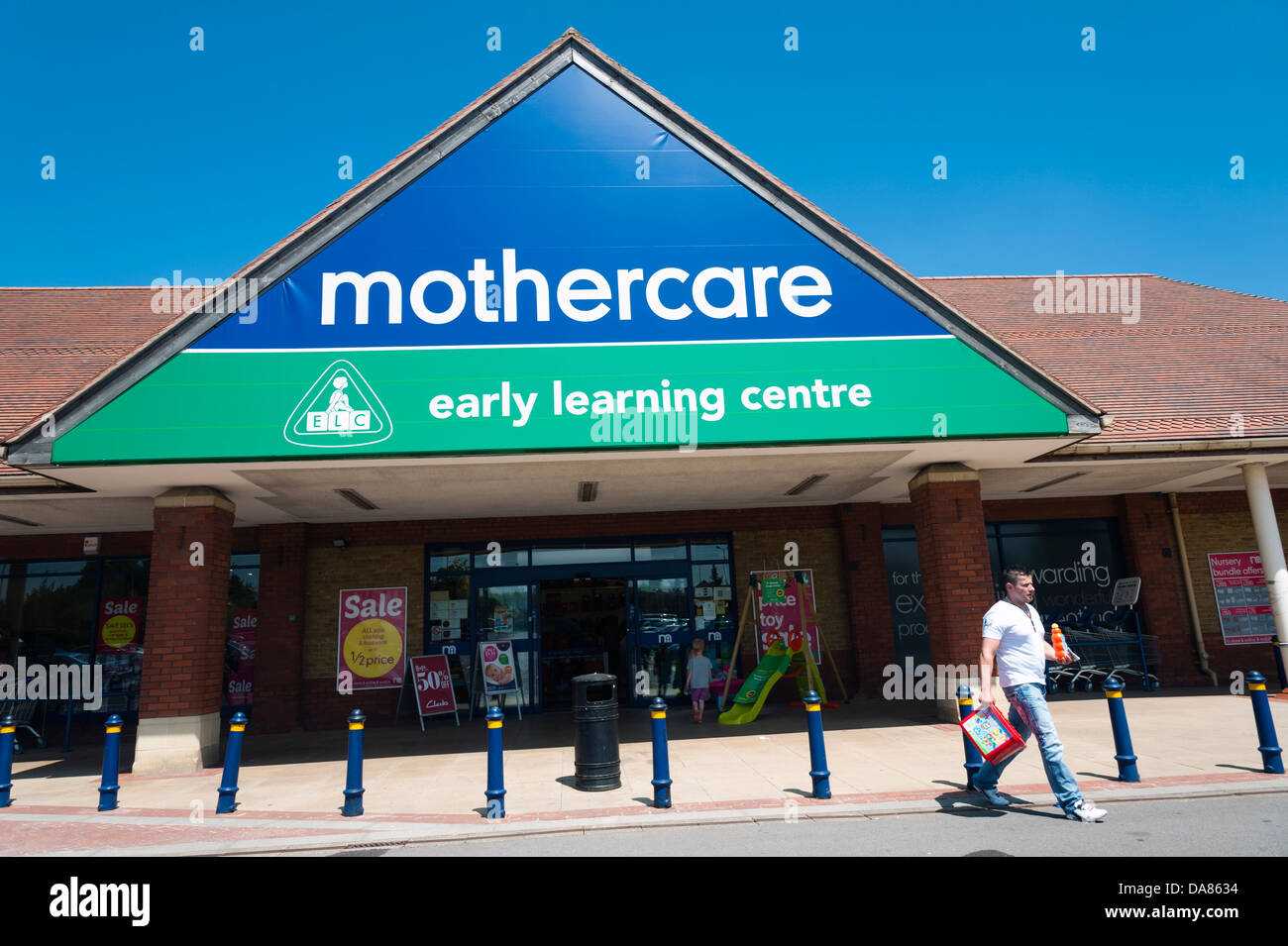 Mothercare store in Taunton, UK. - Stock Image