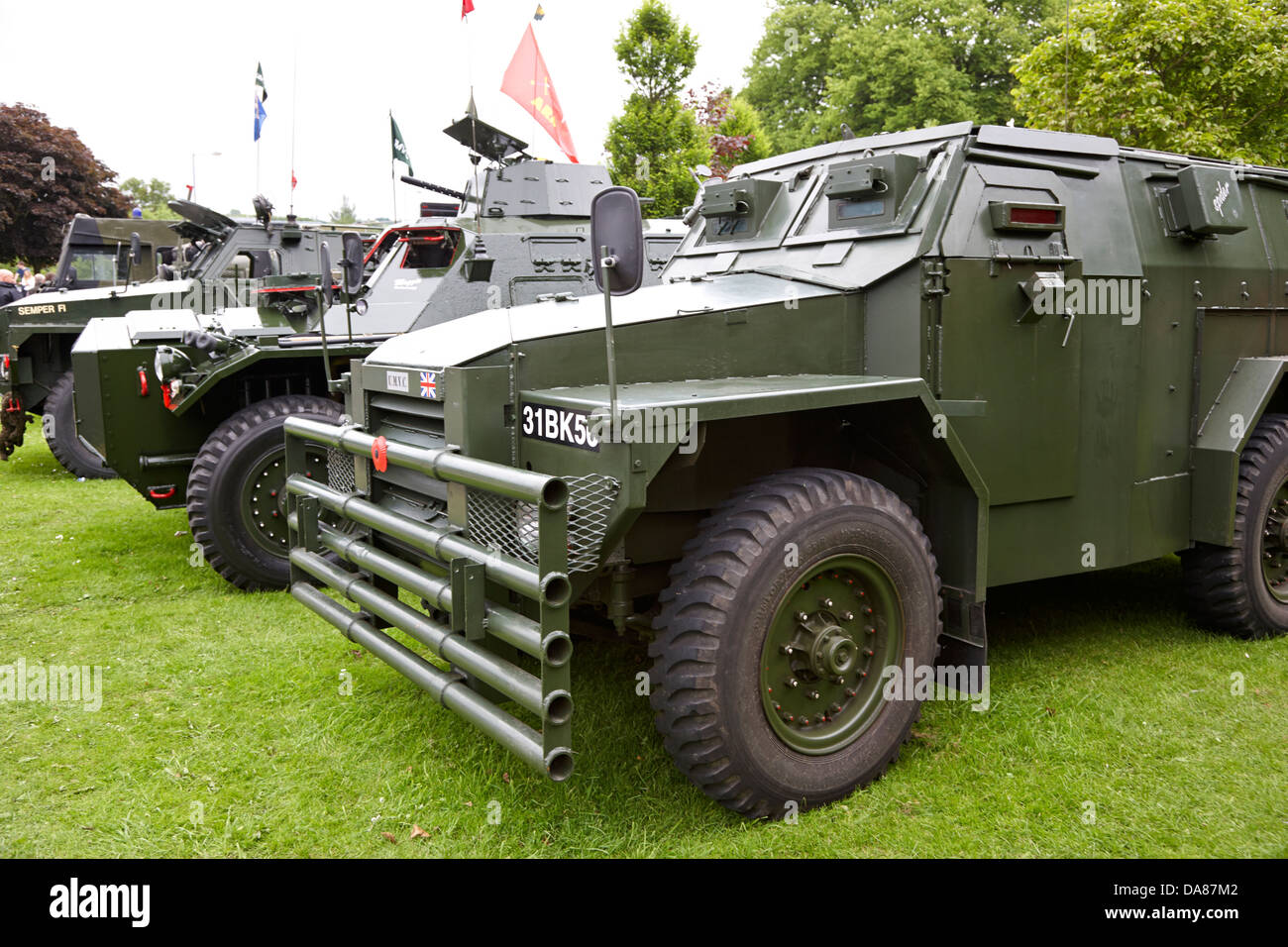 Armored Vehicles For Sale >> vintage british army military vehicles on display county ...