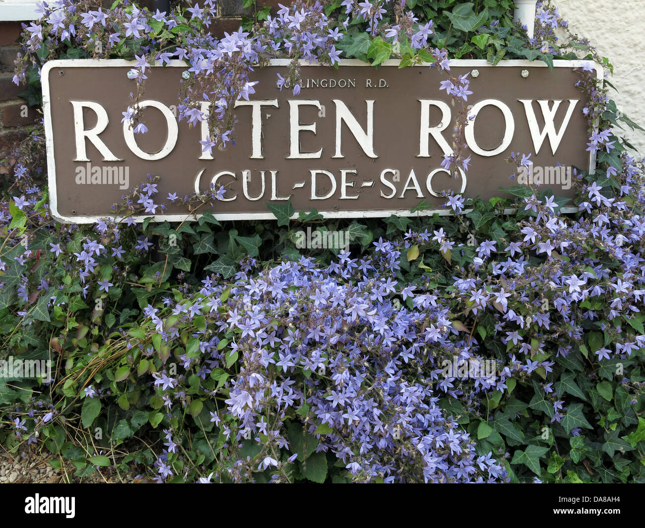 RottenRow - Rotten row a street in Dorchester-on-Thames , Oxen , England , UK OX11 Stock Photo