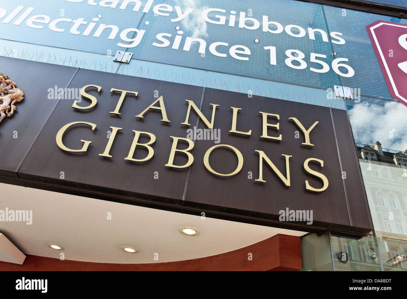 Stanley Gibbons Stamp Collector Shop In London 2013 Stock