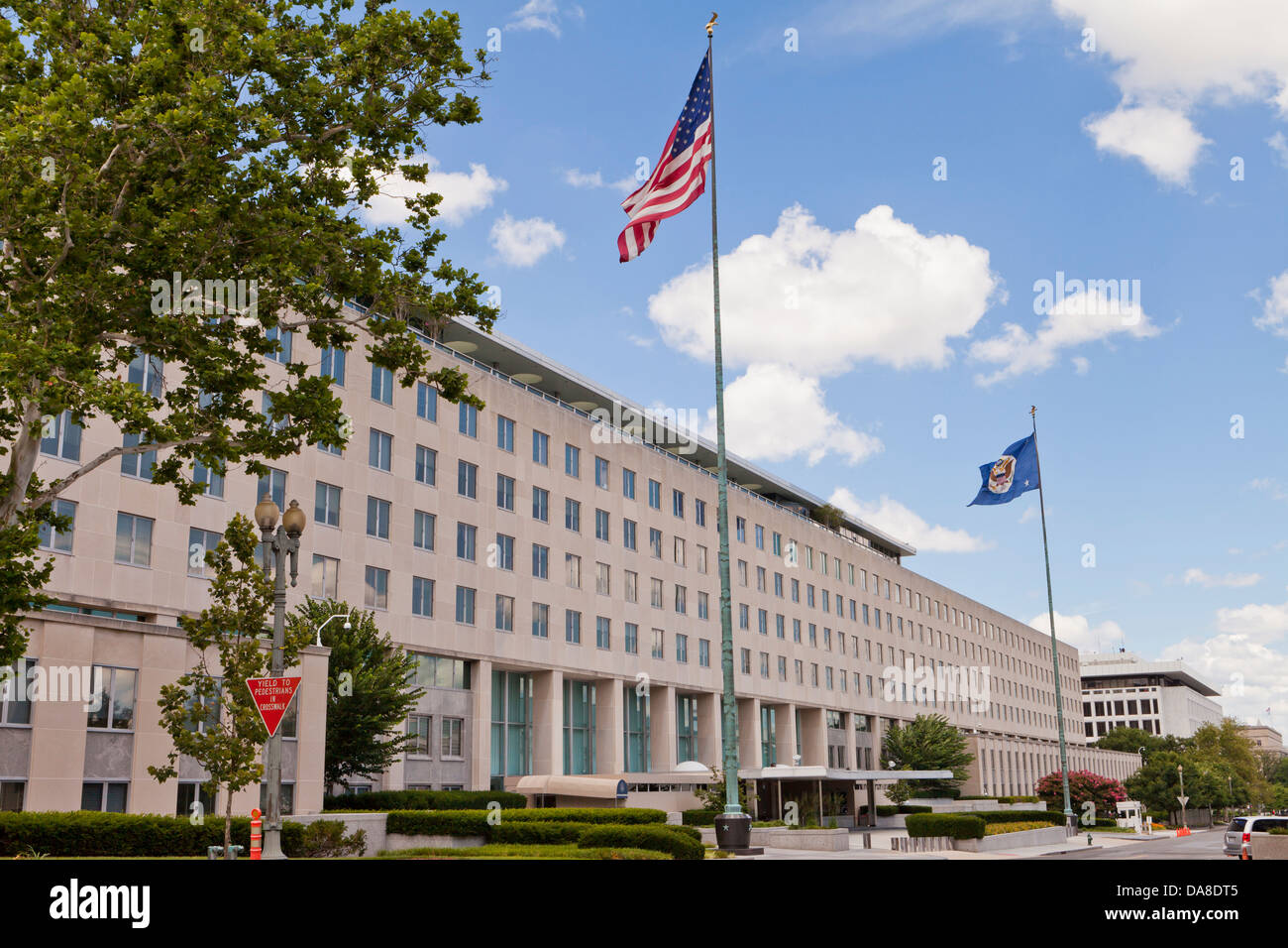 US State Department HQ - Washington, DC USA - Stock Image