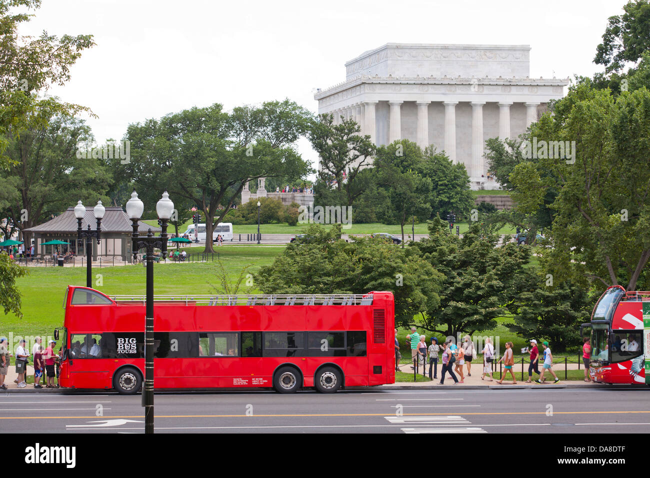 Washington Dc Tour Bus >> Open Top Tour Bus Washington Dc Usa Stock Photo 57964159