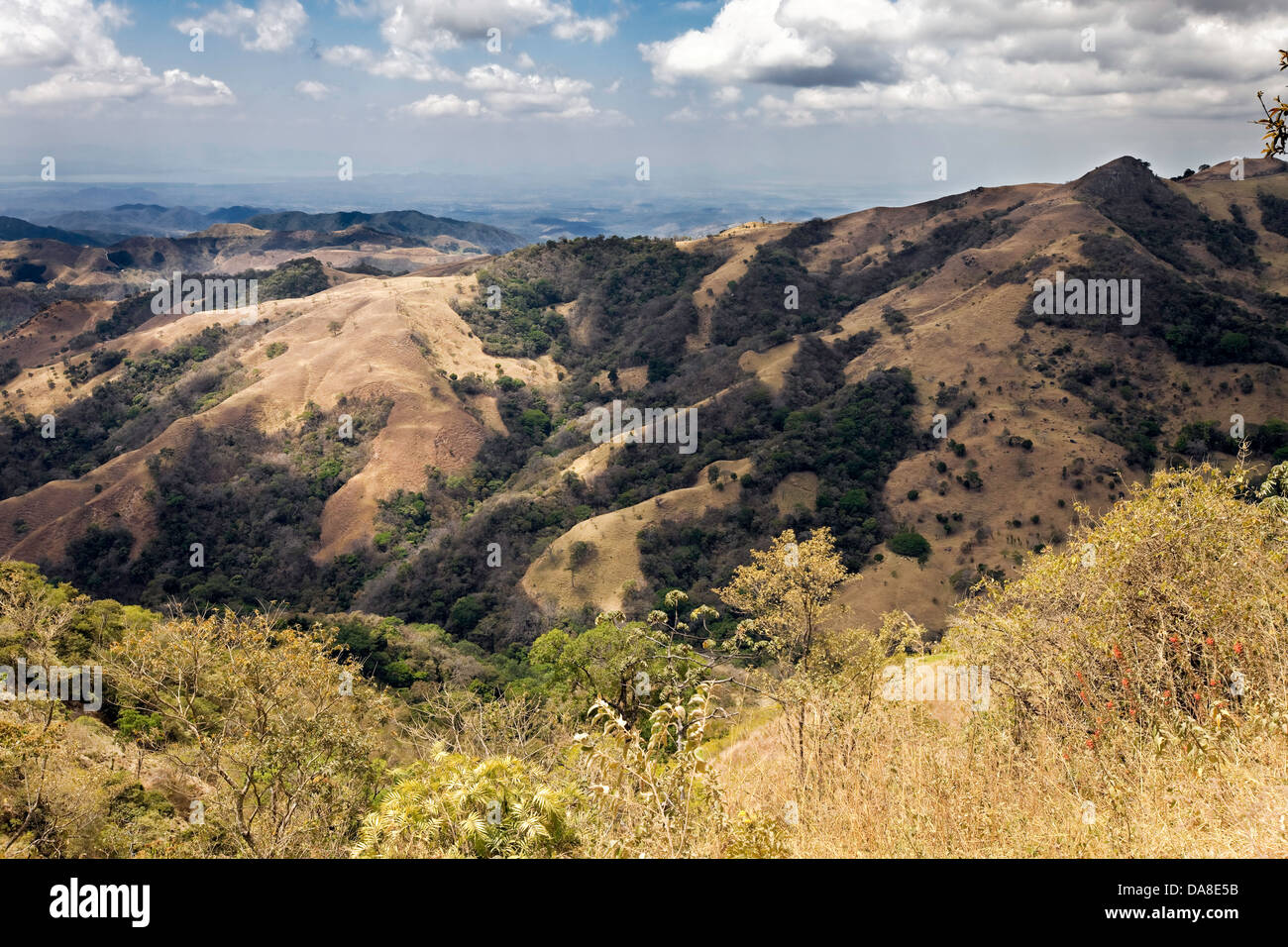 Costa Rican Countryside, Central Pacific Region - Stock Image
