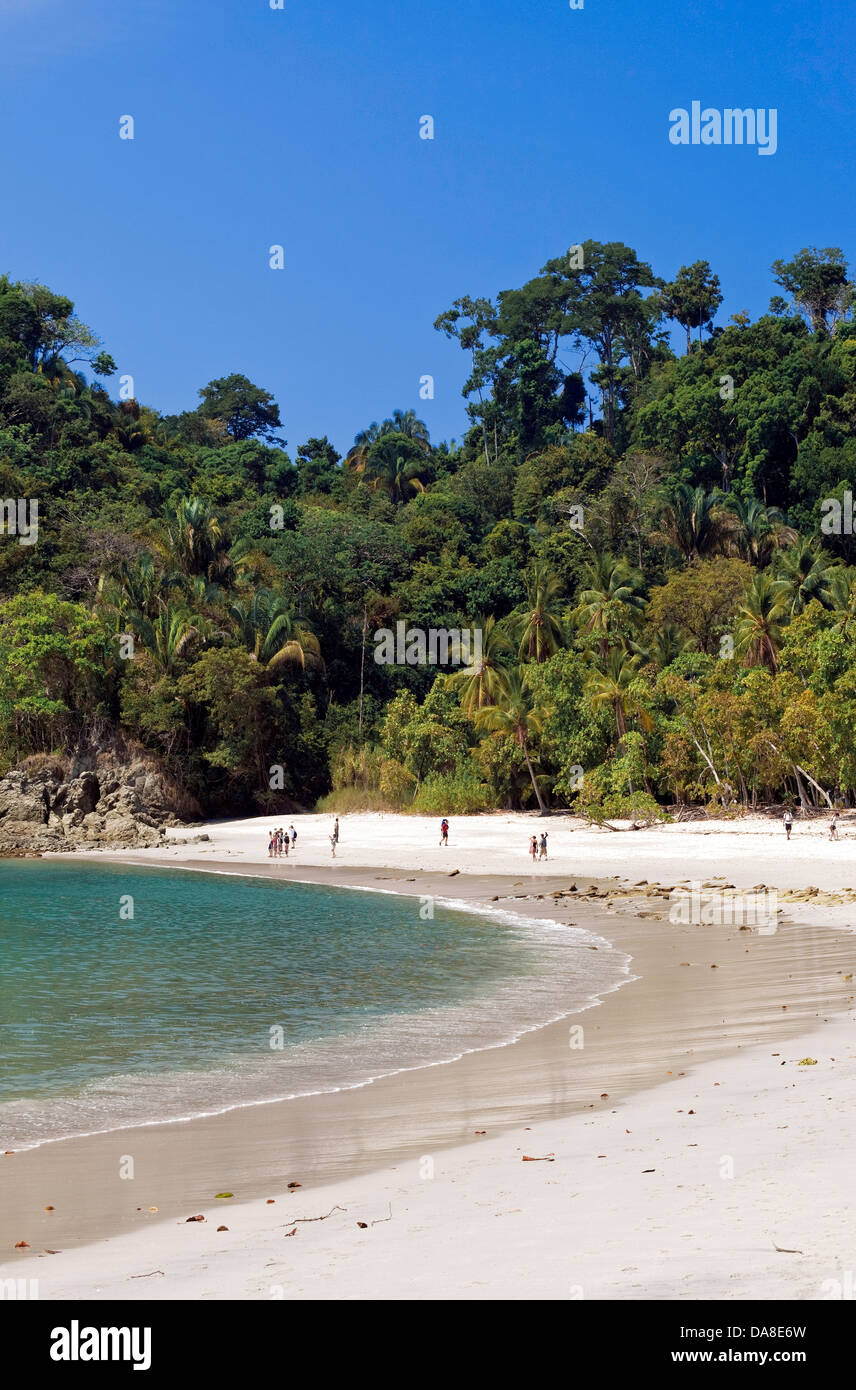 Playa Manuel Antonio, Manuel Antonio National Park, Costa Rica Stock Photo