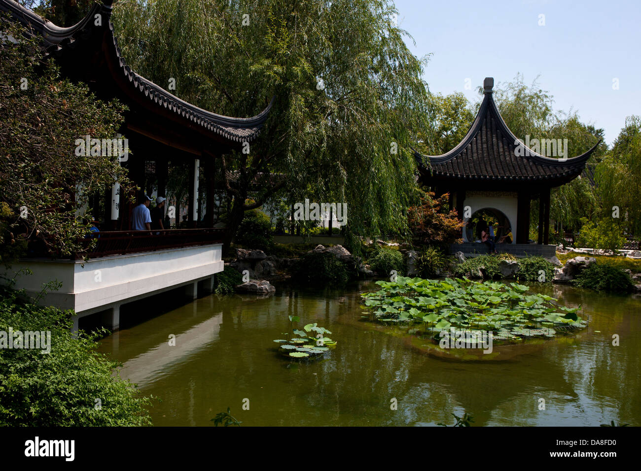 Chinese Garden The Huntington Library Art Collection And Botanical Stock Photo Alamy