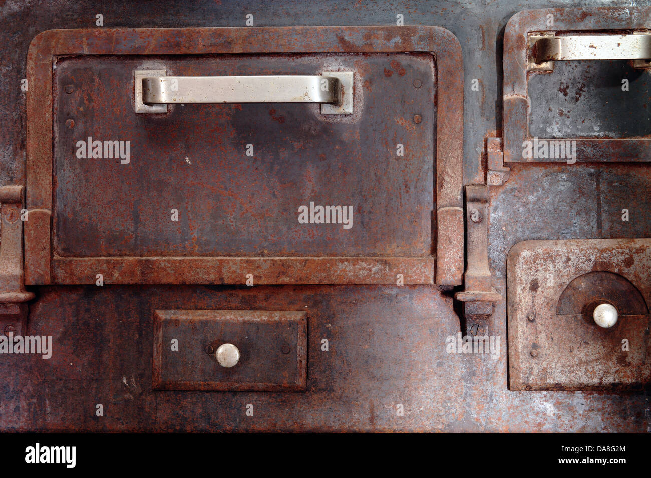 detail of a old and vintage kitchen - Stock Image