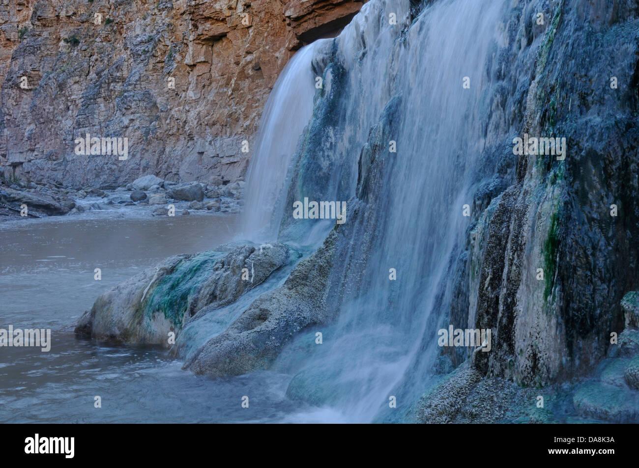 USA, United States, America, Utah, St. George, North America, four corners, Colorado, Plateau, Virgin River, Hot - Stock Image