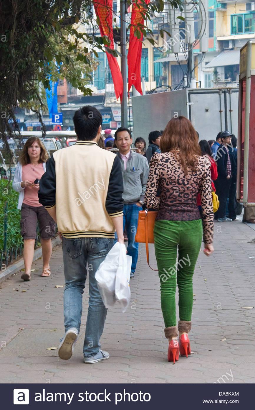 New generation,Hanoi,Vietnam - Stock Image