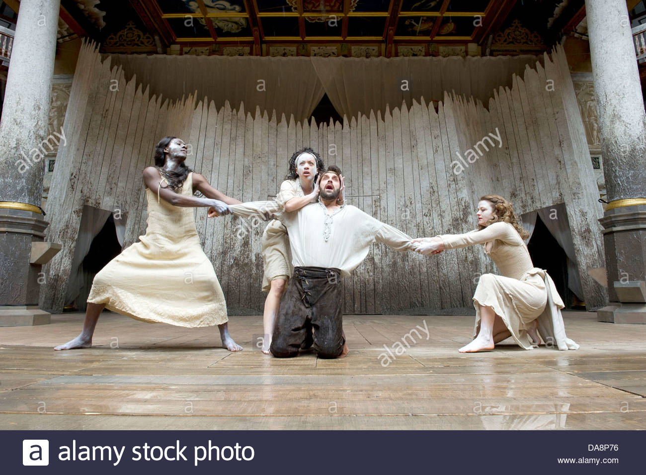 Macbeth by William Shakespeare. A Shakespeare's Globe Production directed  by Eve Best. with Joseph Millson as Macbeth, Moyo Akande, Cat Simmons, ...