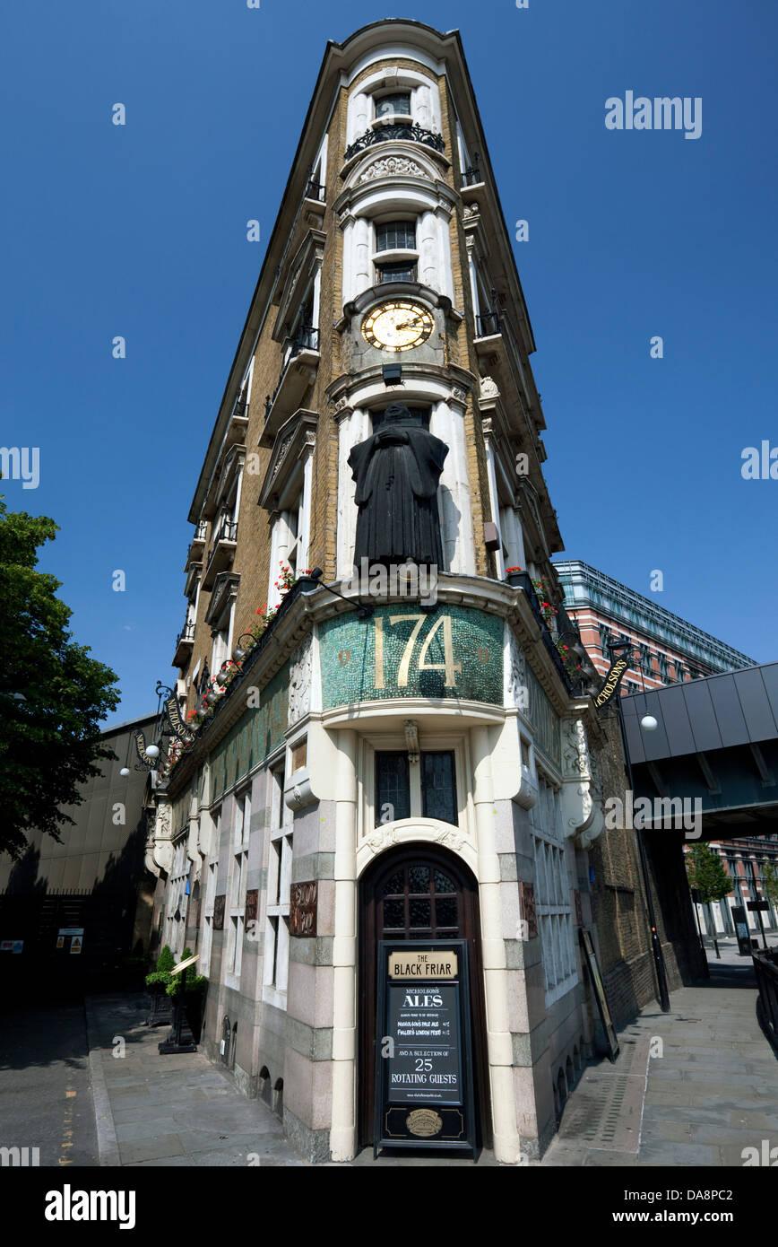 The Black Friar public house, Blackfriars, London Stock Photo